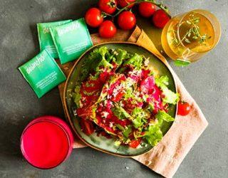 Molho de beterraba para salada