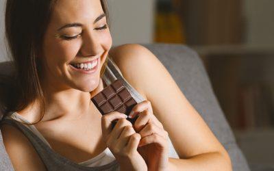 Treinamento para comer chocolate sem levar bronca da nutricionista